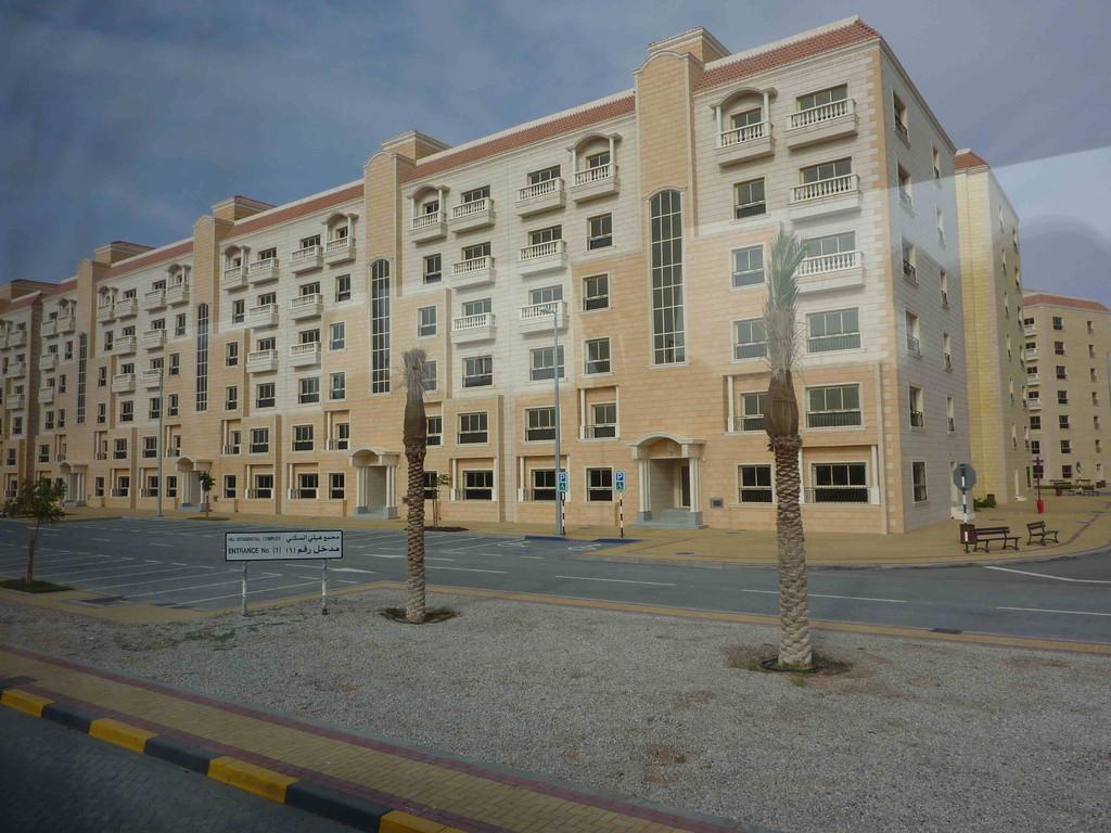 2. Tag - Al Ain - Gastarbeiter-Wohnungen