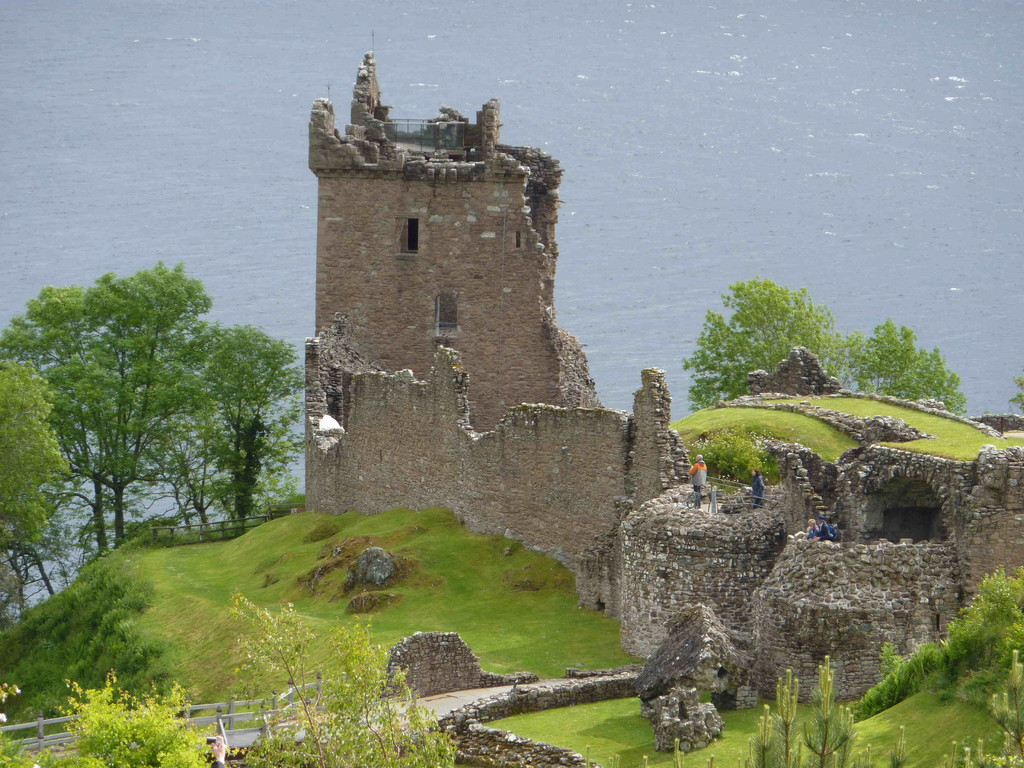 Loch Ness - Ruine Urguhart Castle