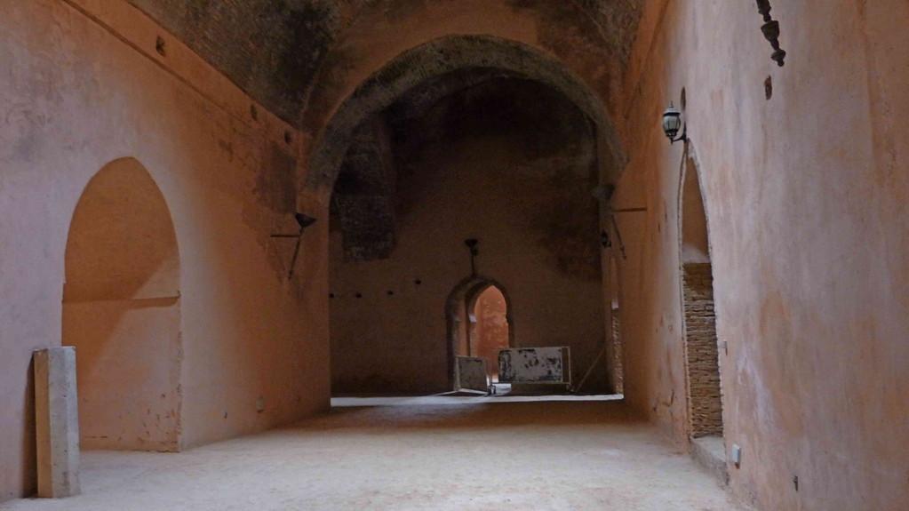 3.Tag - Meknes - Heri Dar el Ma, ein riesiger Vorratsspeicher aus dem 17. Jh.