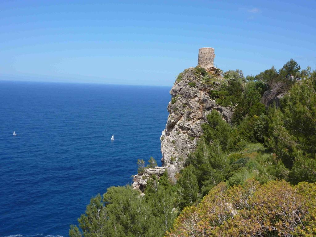 Fahrt nach Deia - Torre de Verger v. 1597