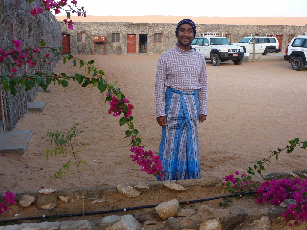 5. Tag - Wahiba Sands - Kamal im Schlafgewand