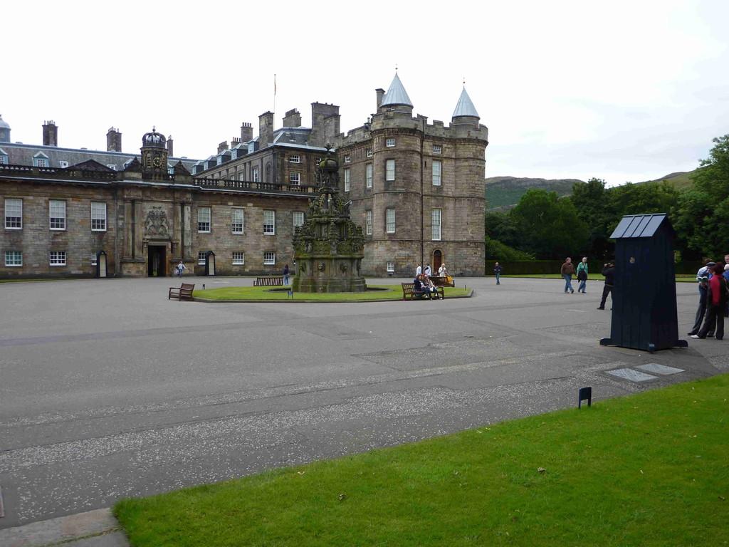 Edinburgh - Königspalast