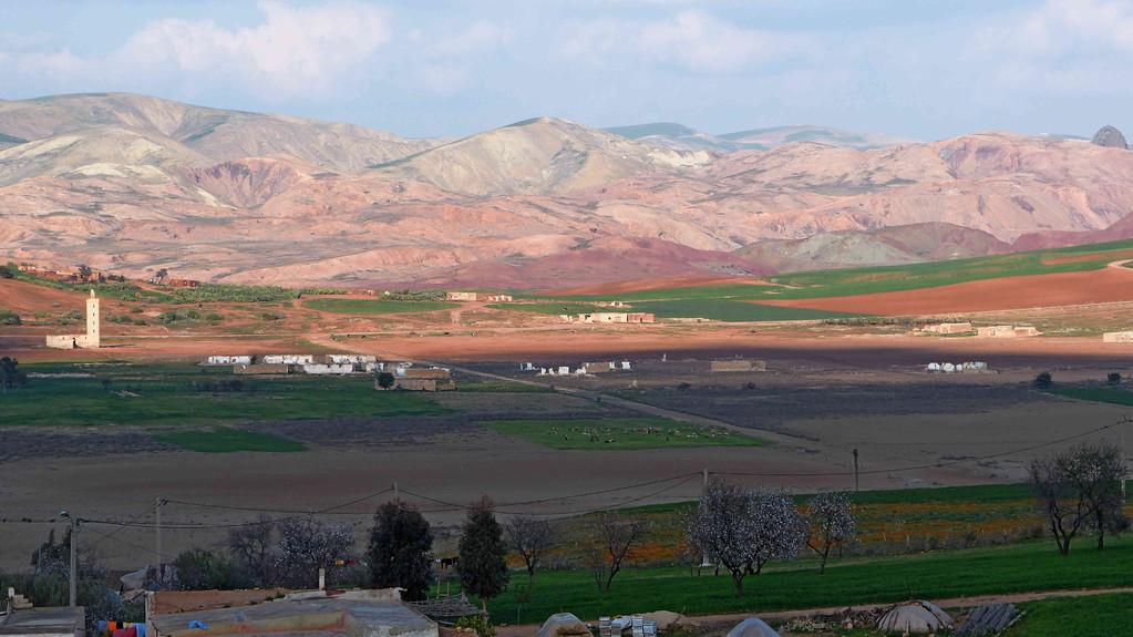 3.Tag - Landschaft auf der Fahrt nach Fes