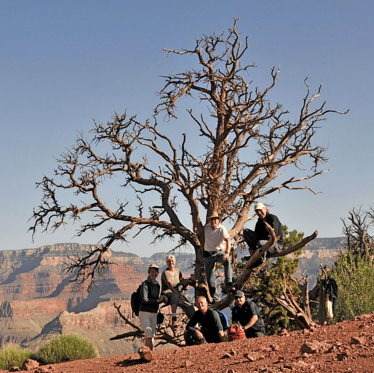 Grand Canyon - Wanderung auf dem  South Kaibab Trail (Foto von Frank)