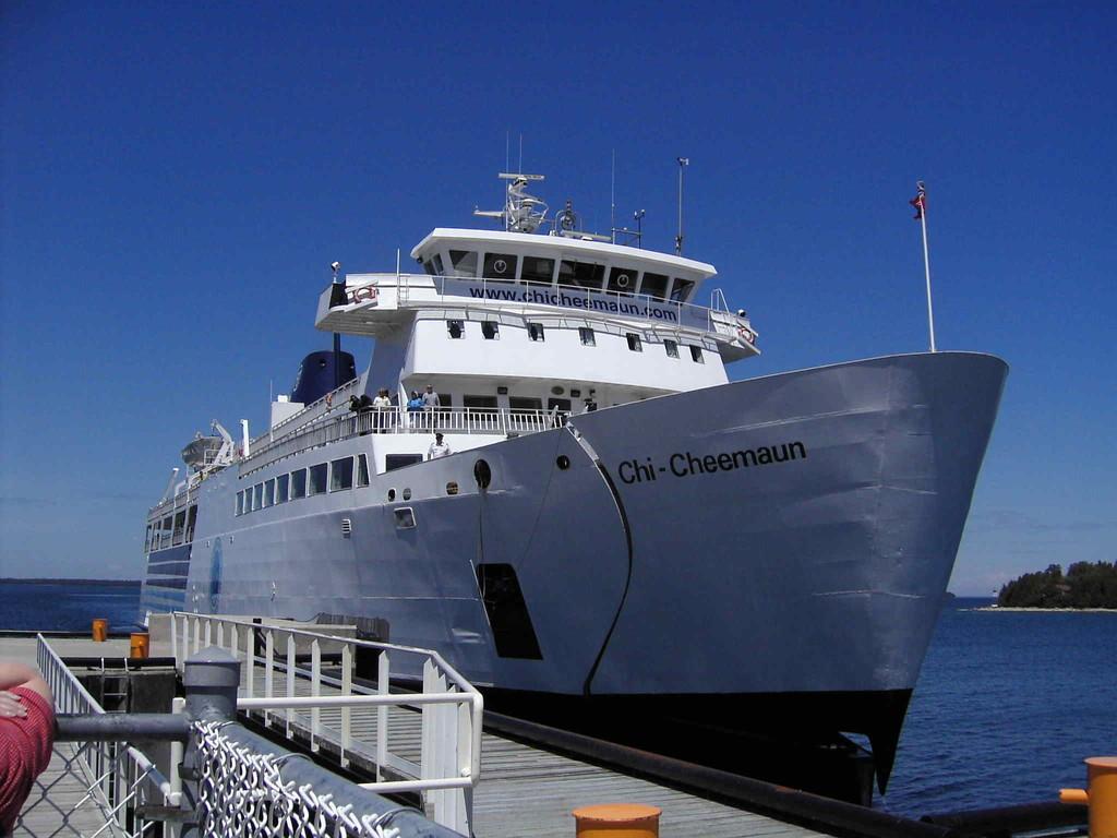 Tobermory _ Fähre nach South Blaymouth/Manitoulin Island