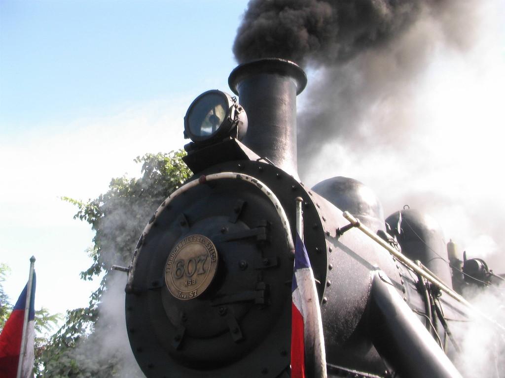 Mit dem Tren del Vino von San Fernando nach Santa Cruz
