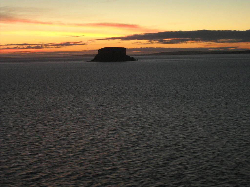 Auf See v. Puerto Montt nach Puerta Chacabuco / Abendstimmung