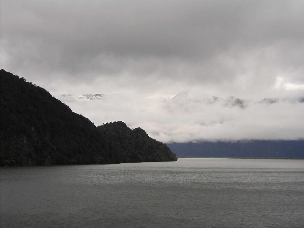 Auf See v. Puerto Montt nach Puerta Chacabuco