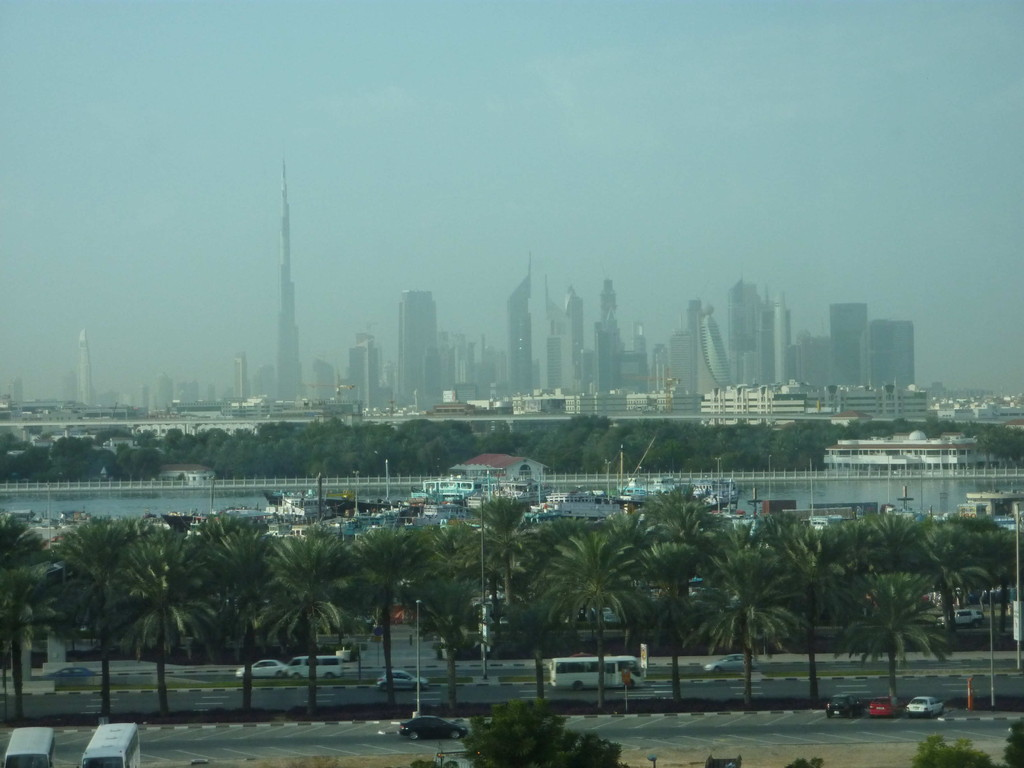"1.Tag - Dubai - Sicht aus dem Hotel ""Emirates Concord E"""