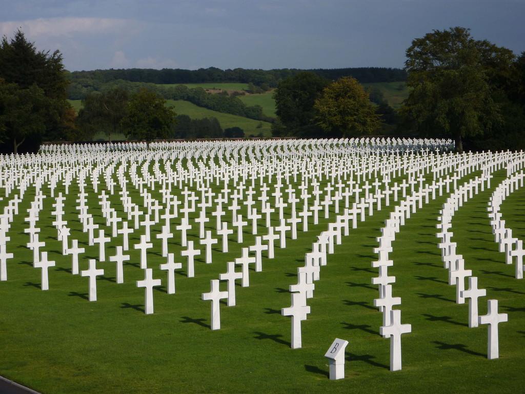 7.Tag - US Soldatenfriedhof Henri Chapeele