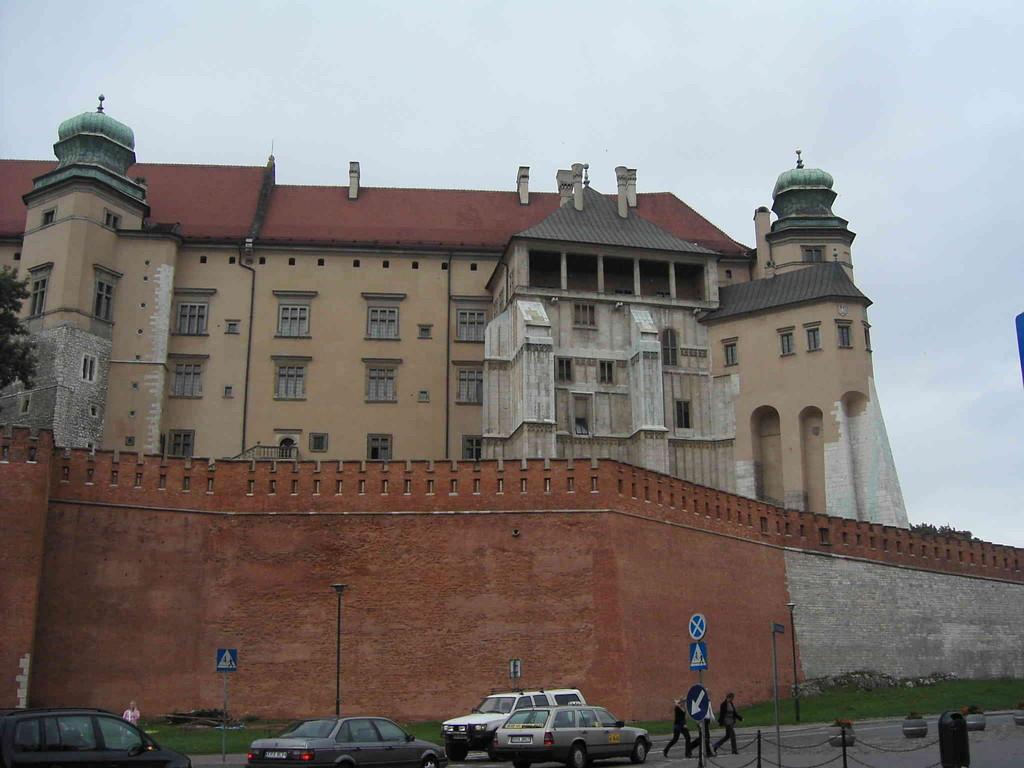 4.9.2007 Stadtführung Krakau - Wawelberg