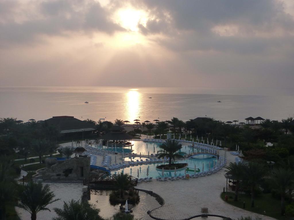 9.-13. Tag - Hotel Rotana Resort Fujaihra - Sonnenaufgang