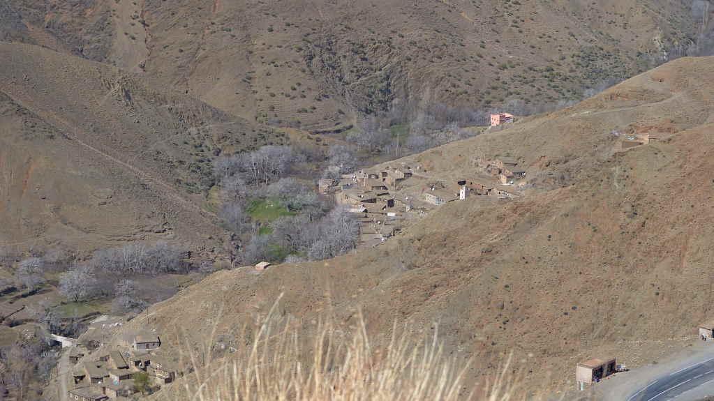 8. Tag - Fahrt von Quarzazate nach Marrakesch - Tizin Tischka Pass im Hohen Atlas