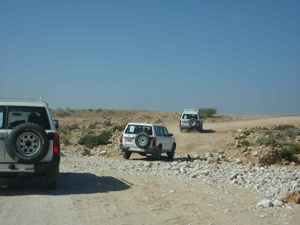 6. Tag - Auf der Fahrt von Sur nach Muscat - White Beach