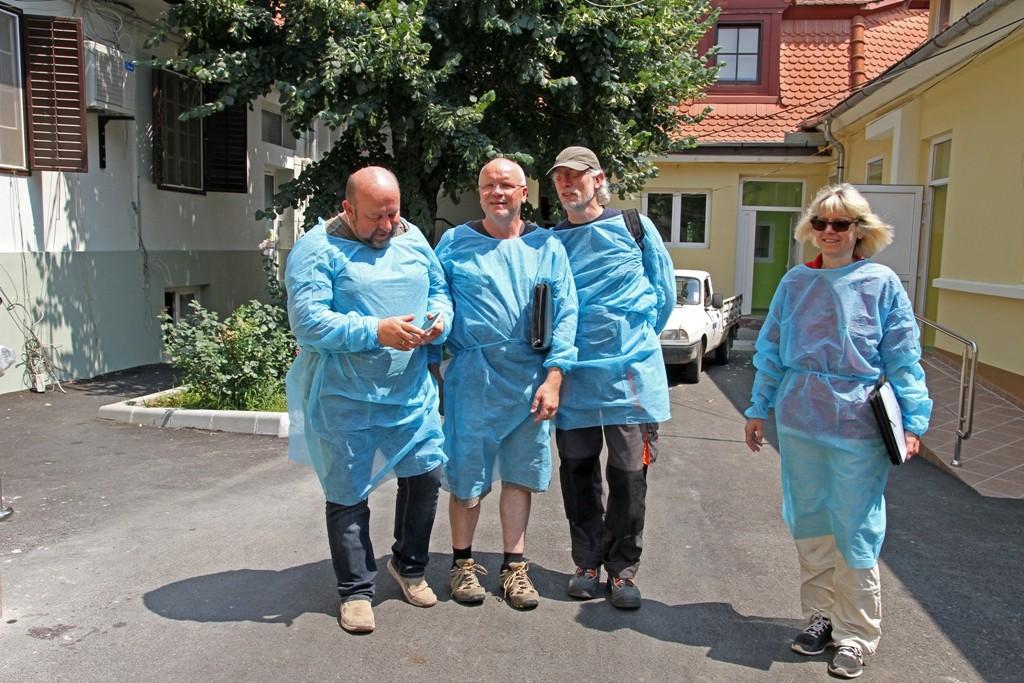 08.07.2015 Besuch des Kinderkrankenhauses in Sibiu