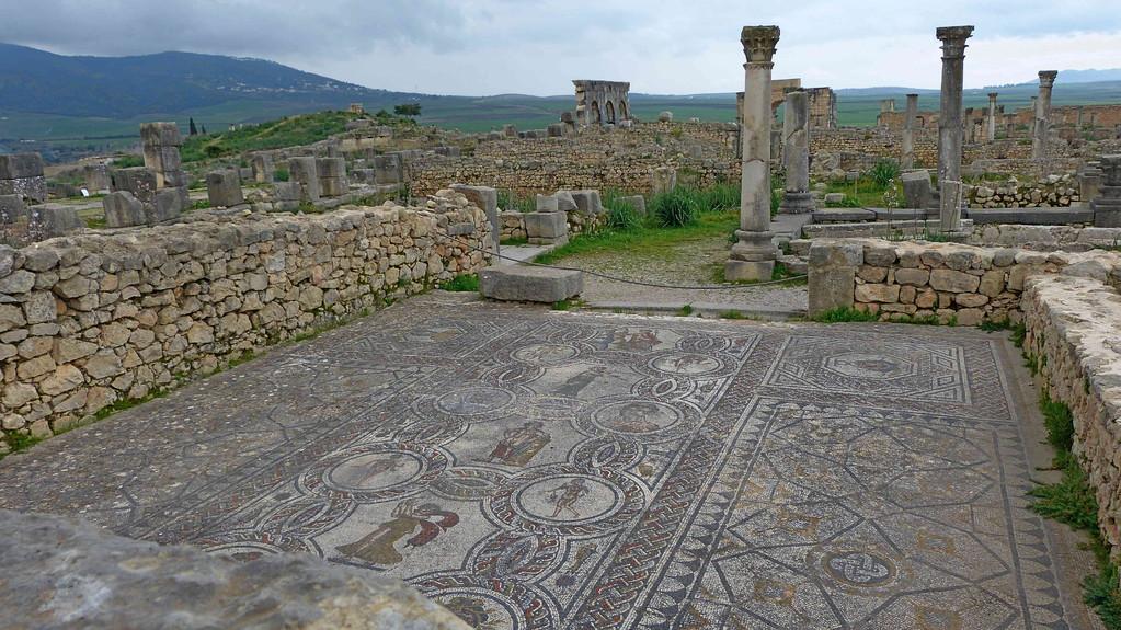 3.Tag - Volubilis -Mosaik Jahreszeiten