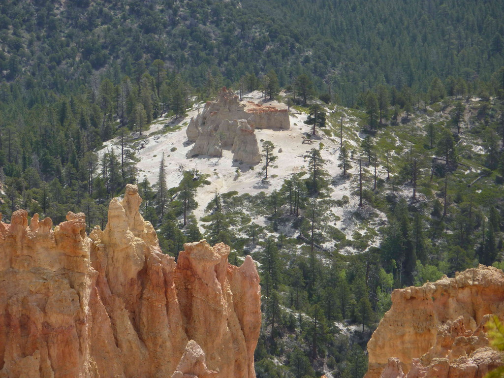 Auf Tour am Bryce Canyon - Ponderosa Point 2.724 m