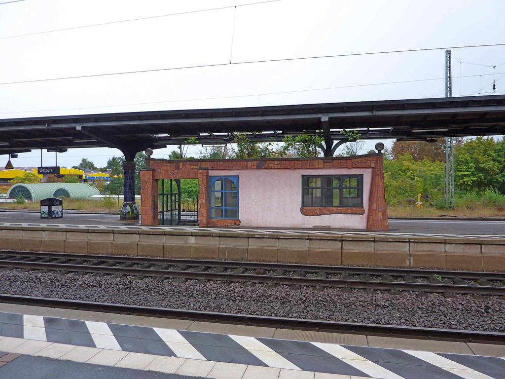 8. Tag - Hundertwasser-Bahnhof in Uelzen