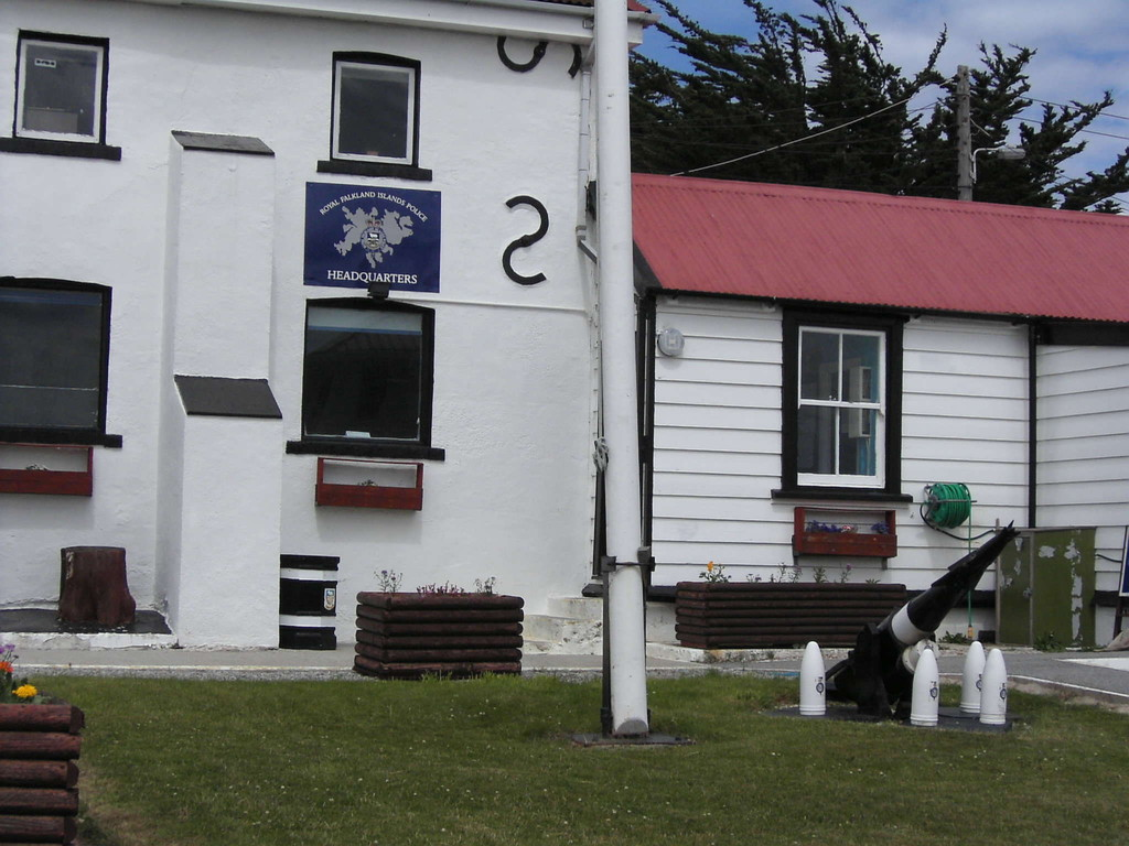 Stop Falklandinseln -