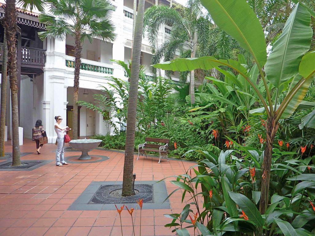 Singapur - Raffels