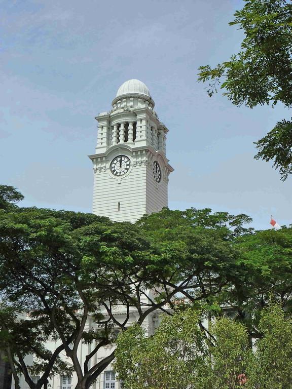 Singapur - Gebäude aus der Gründerzeit