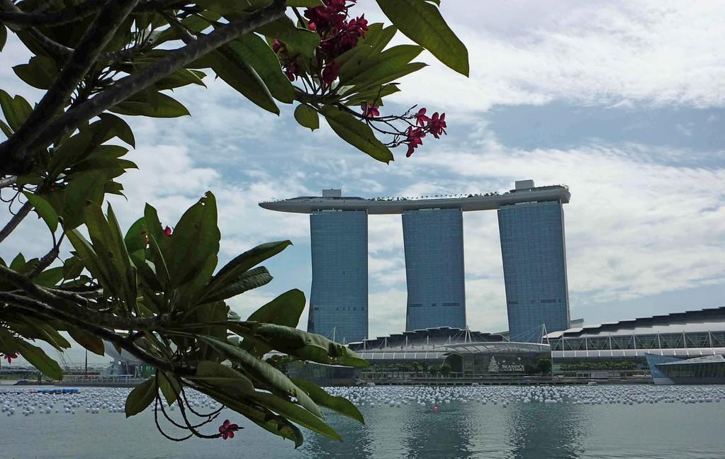 Singapur - Marina Bay Sands Hotel