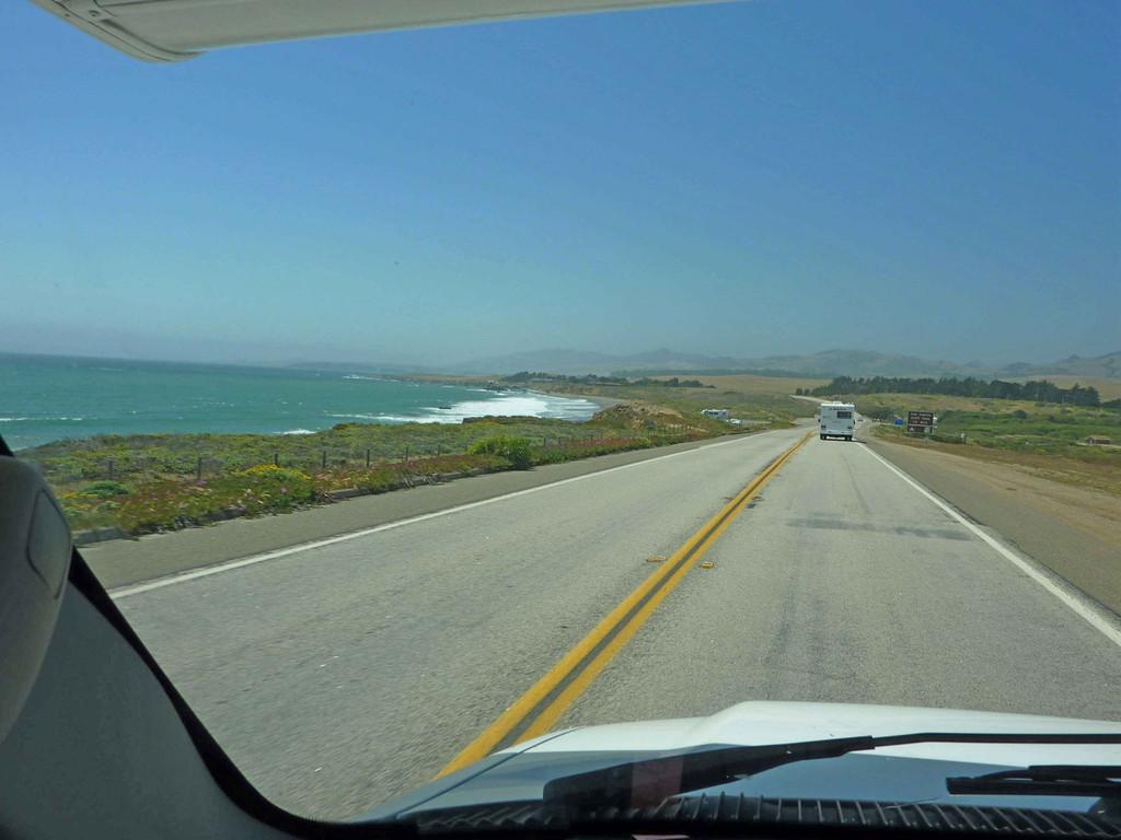 Auf Tour nach Morro Strand