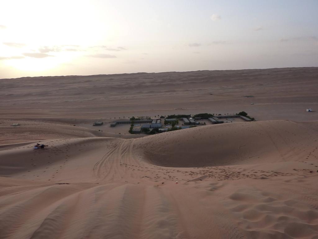 4. Tag - Wahiba Sands - Blick auf Al Rahe Desert Camp