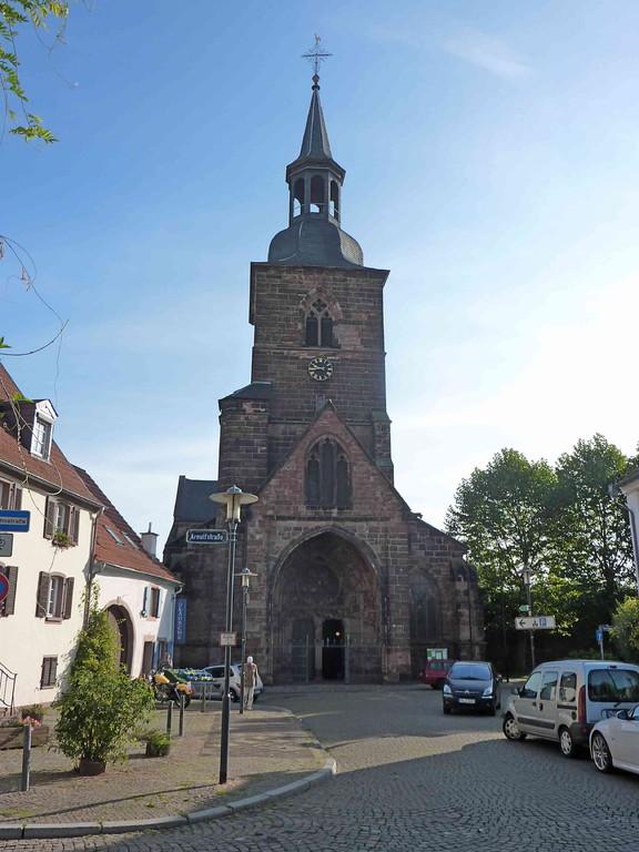11.9.2010 Saarbrücken  - Stiftskirche St Arnual