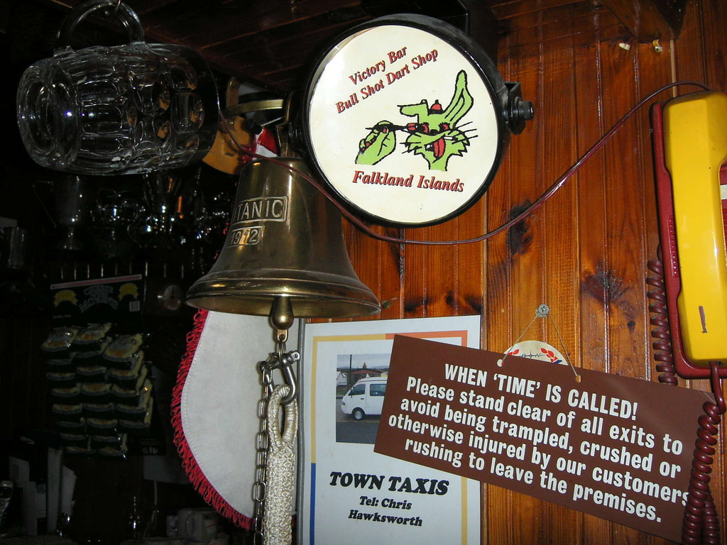 Stop Falklandinseln - Victory Bar