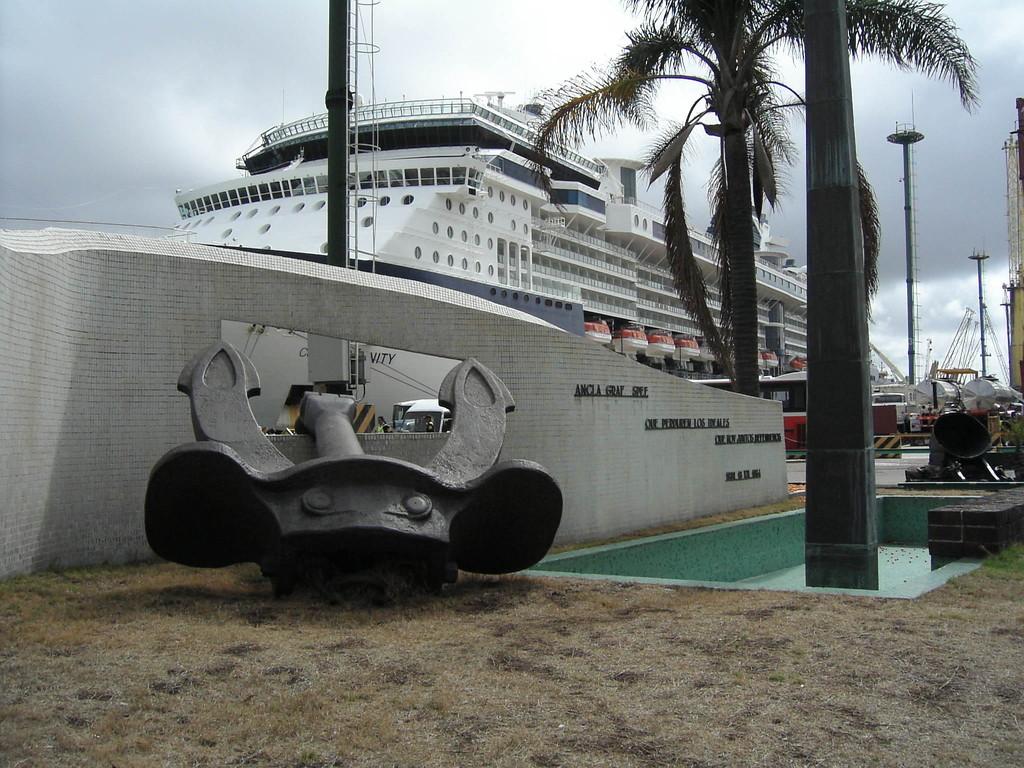 Stop Montevideo/Uruguay - Anker der Graf Spee