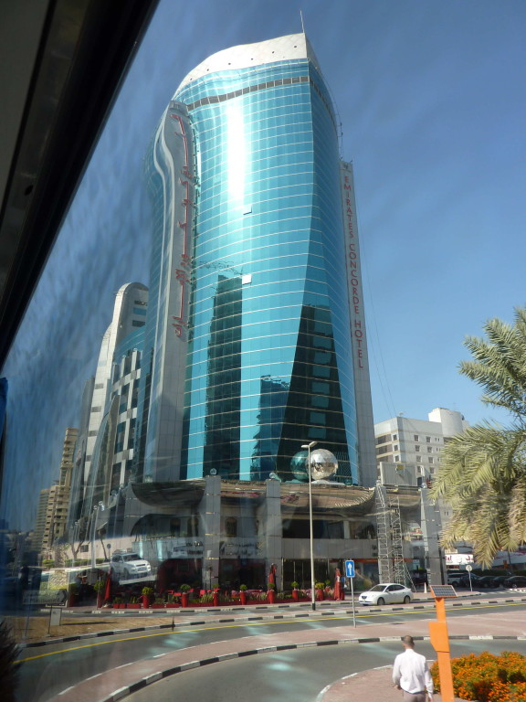 1.Tag - Dubai - Auf der Fahrt zum Creek