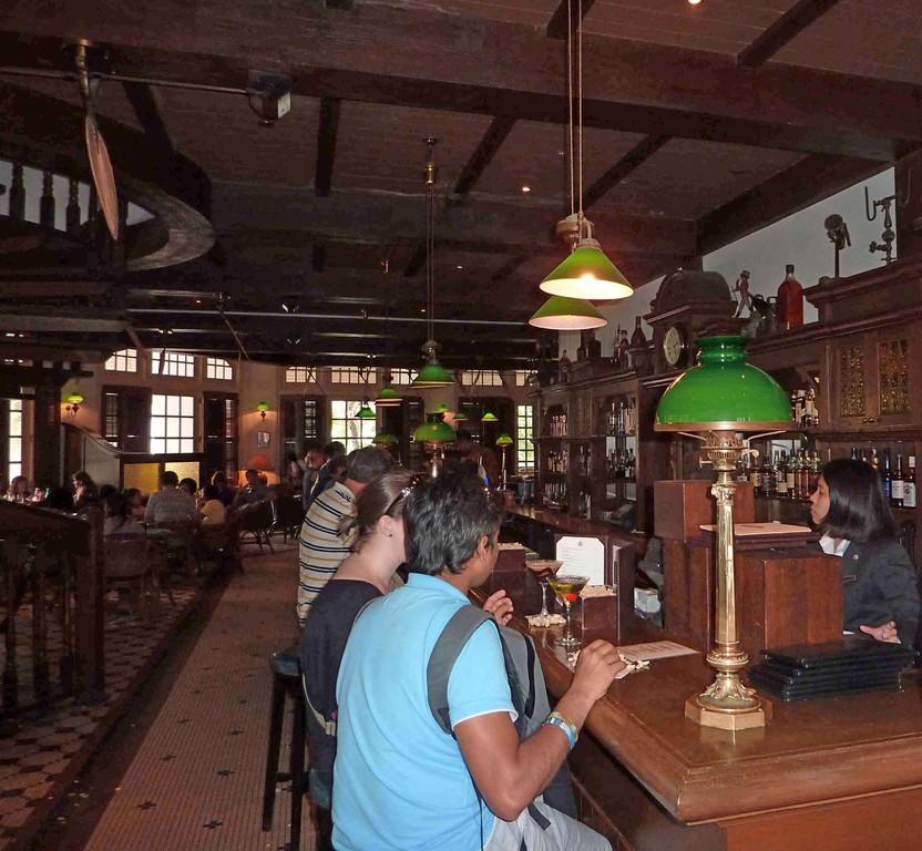 Singapur - Raffels / Bar - Cocktail Singapur Sling