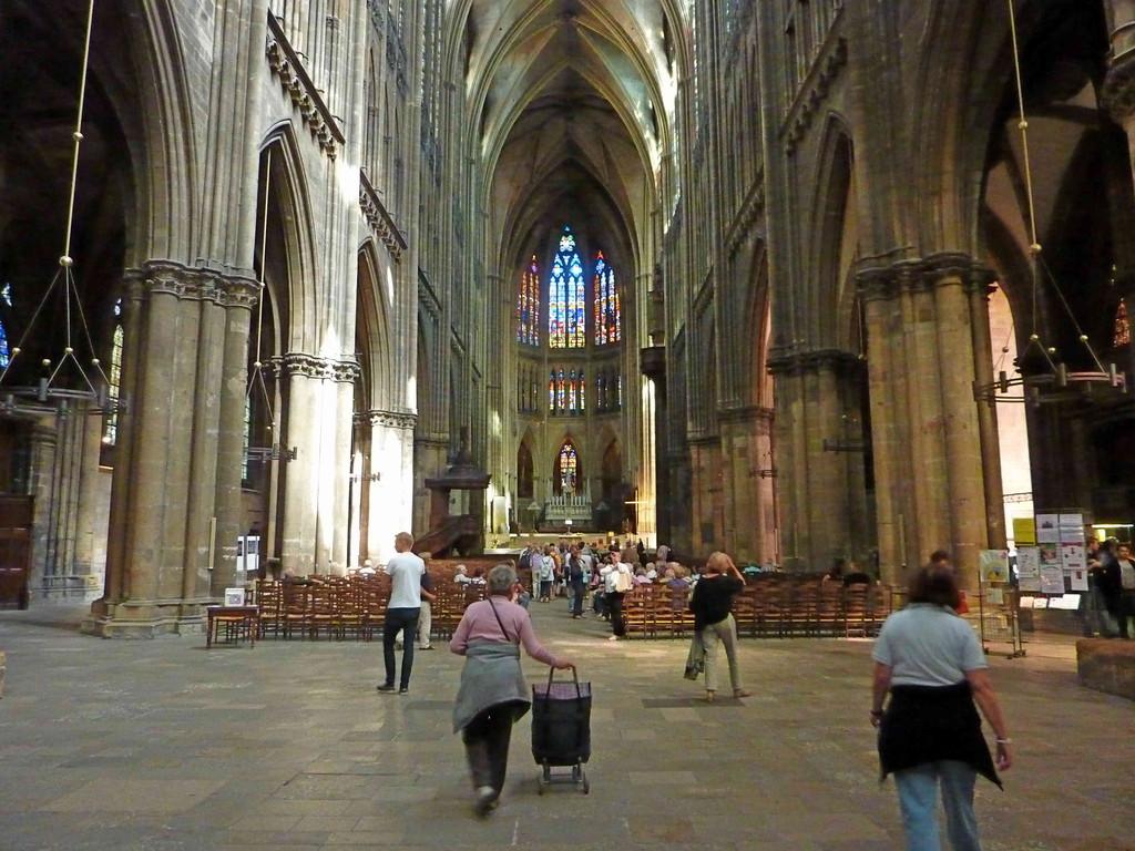 11.9.2010 Metz/F - Kathedrale St. Etienne