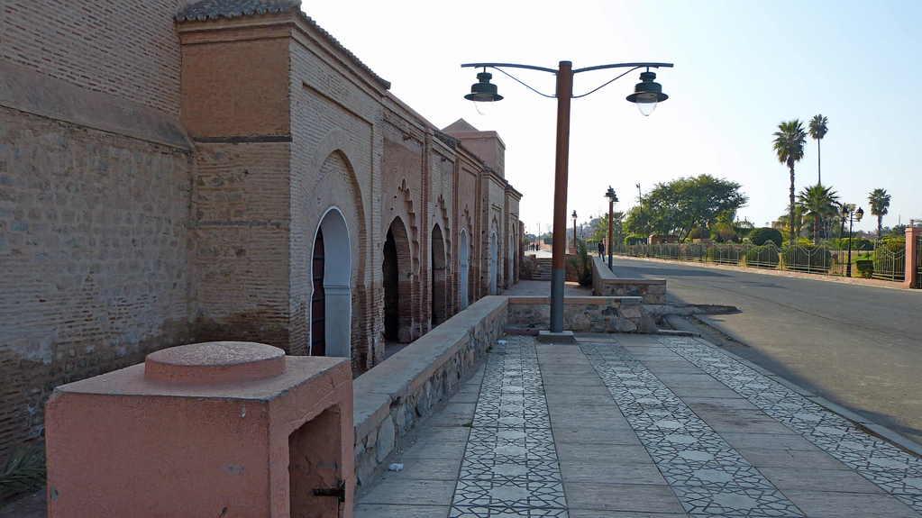 9.Tag - Marrakesch - Minarett der Koutoubia-Moschee