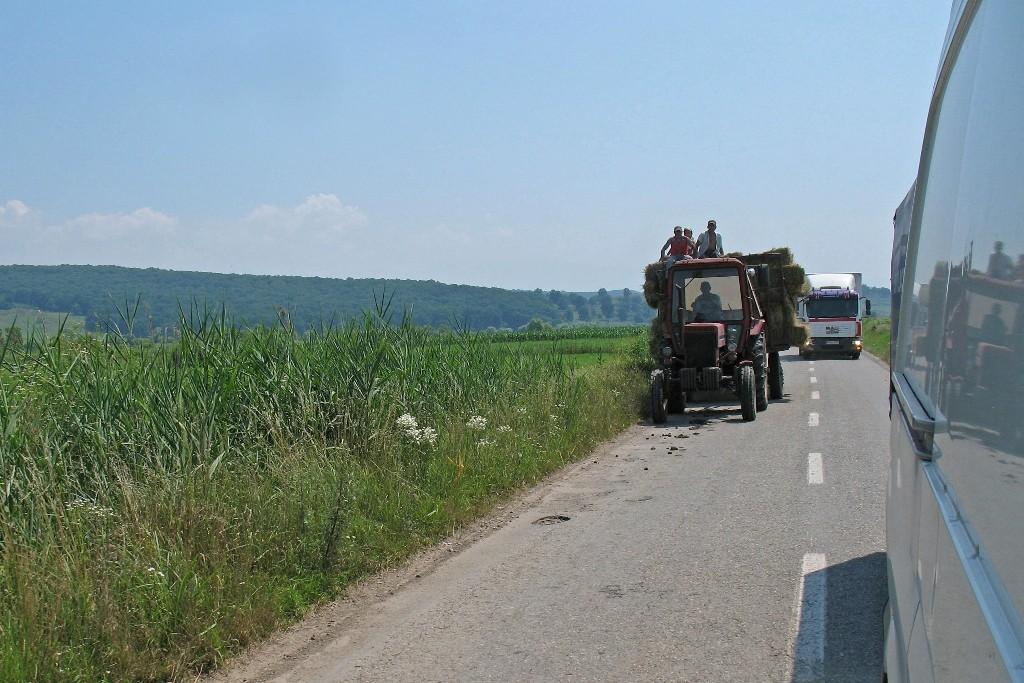 08.07.2015 Fahrt nach Vupar nördl. von Sibiu