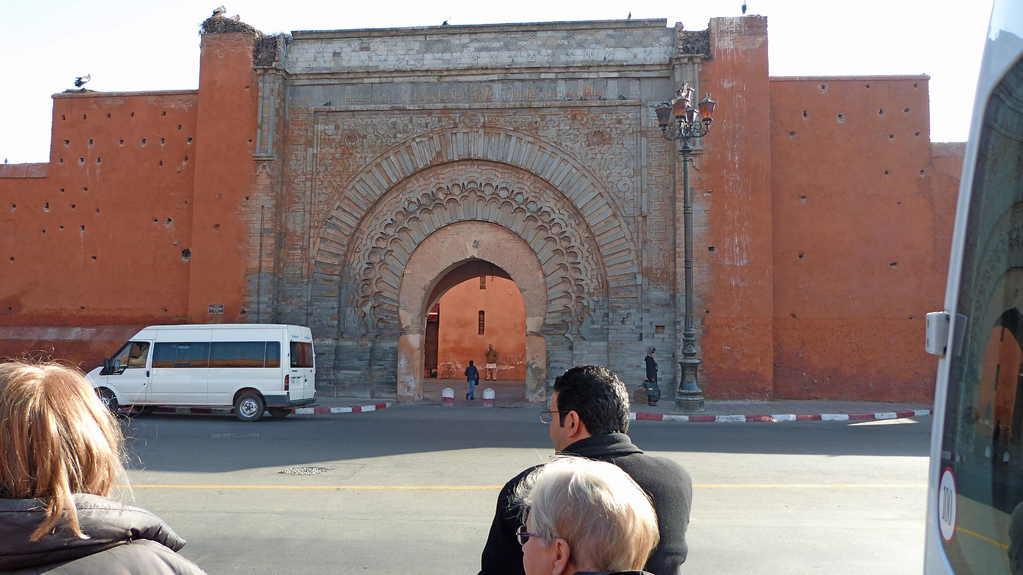 9.Tag - Marrakesch - Historisches Stadttor Bab Agnaou