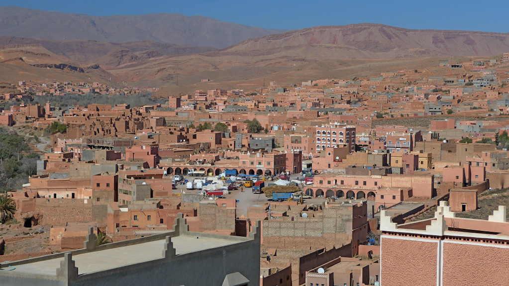 7.Tag - Fahrt von Erfoed nach Quarzazate - Boumalne Dades