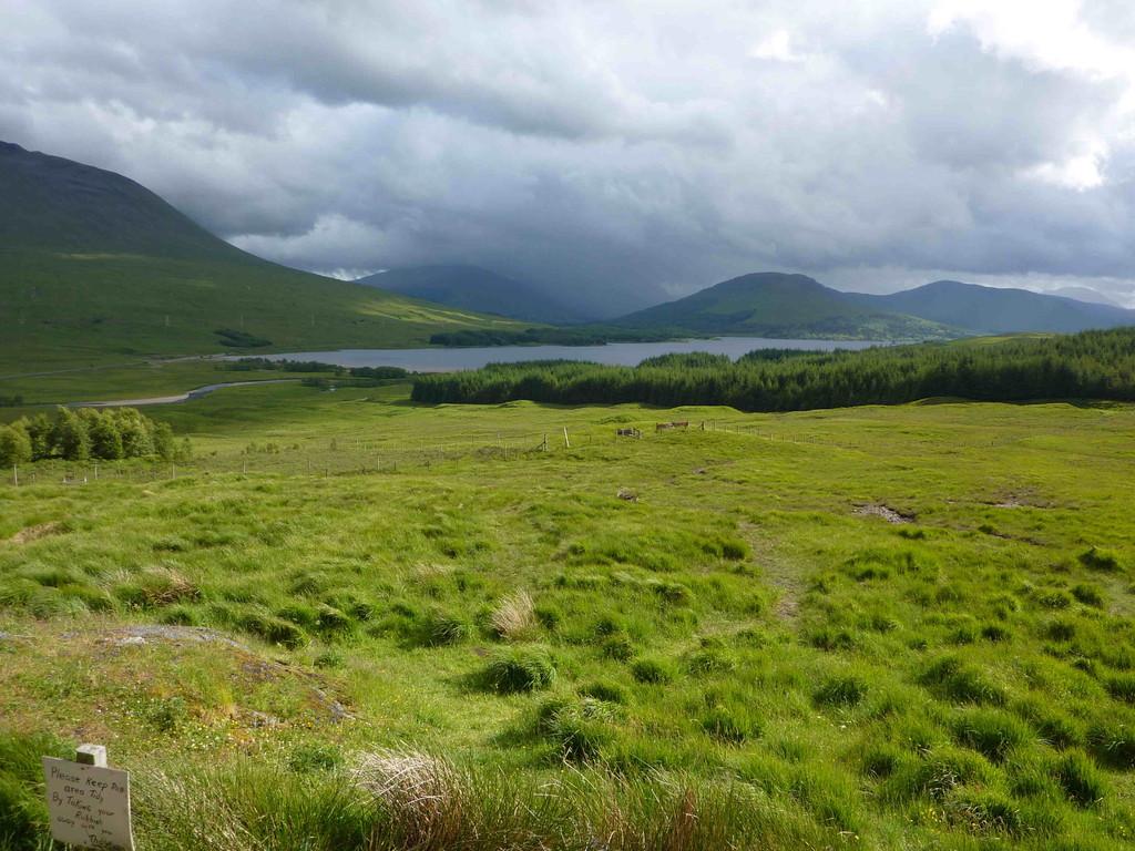 Landschaft um Ballachulish