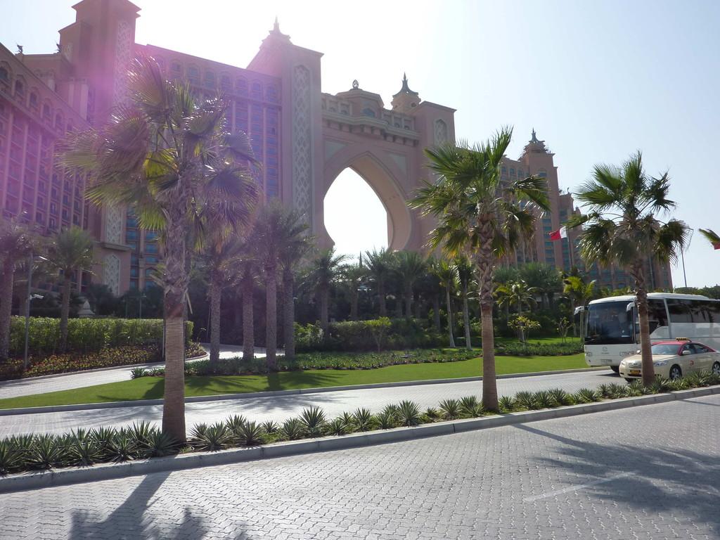 1.Tag - Dubai/Palme - Hotel Atlantis
