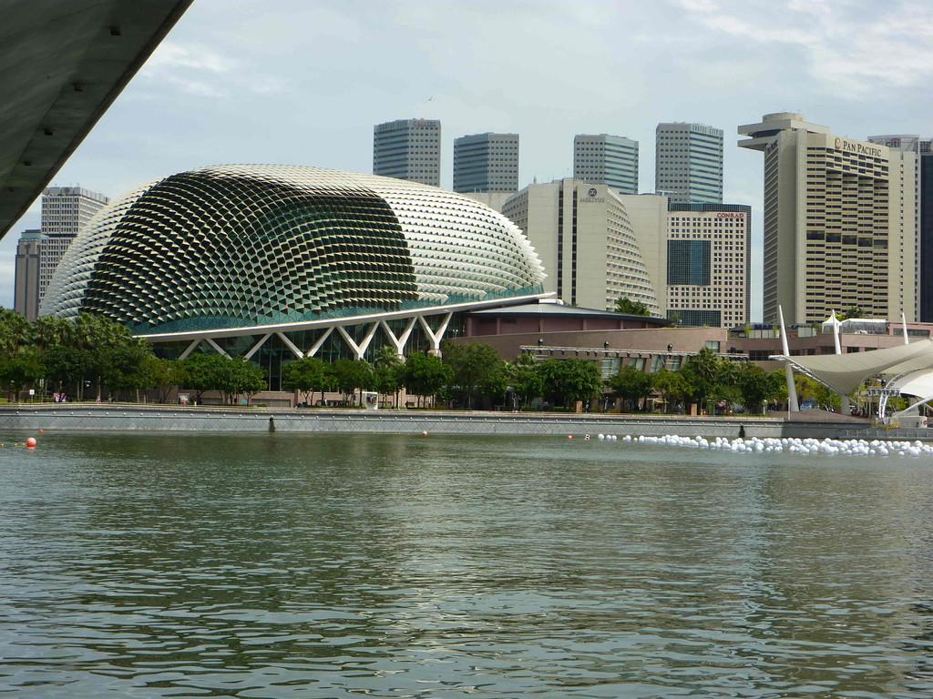 Singapur - Merlion, Theater