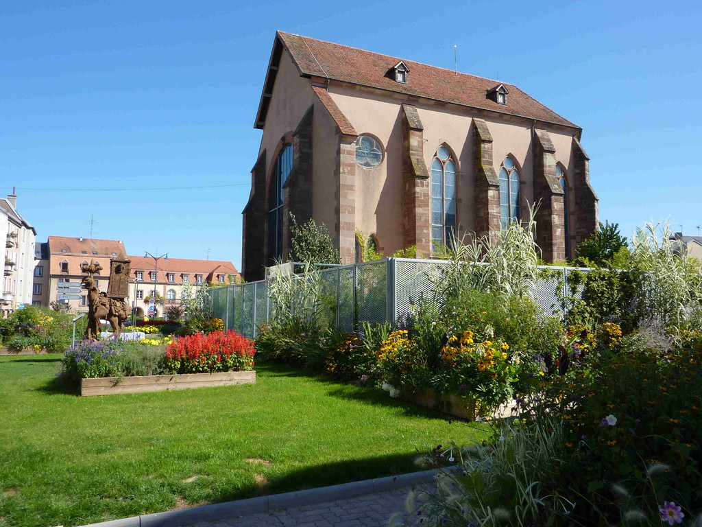 6.9.2010 Sarrebourg/F Chapelle des Cardeliers mit Glasfenster von Marc Chagall