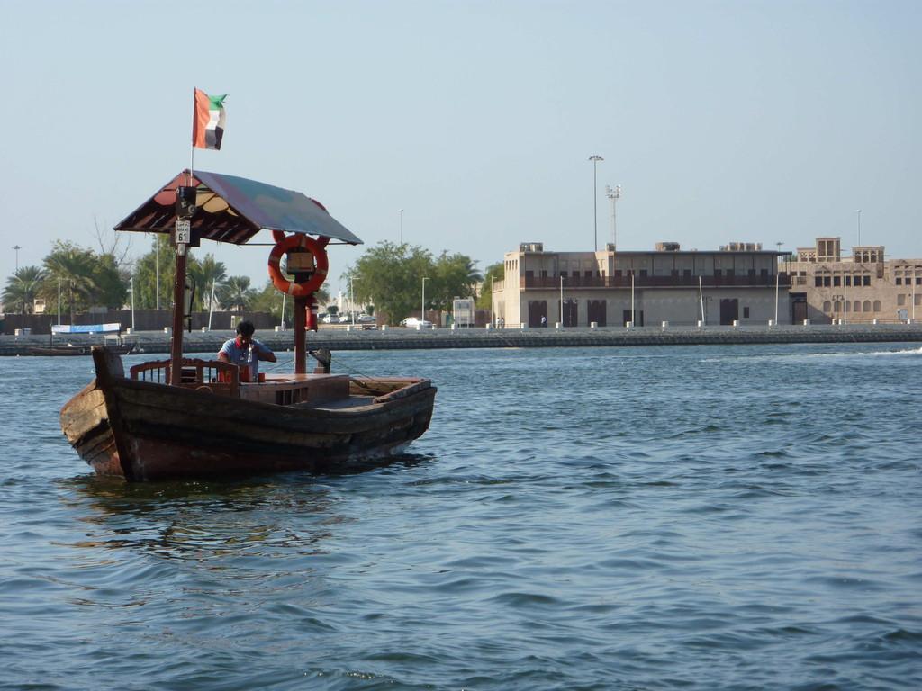1.Tag - Dubai - Fahrt über den Creek