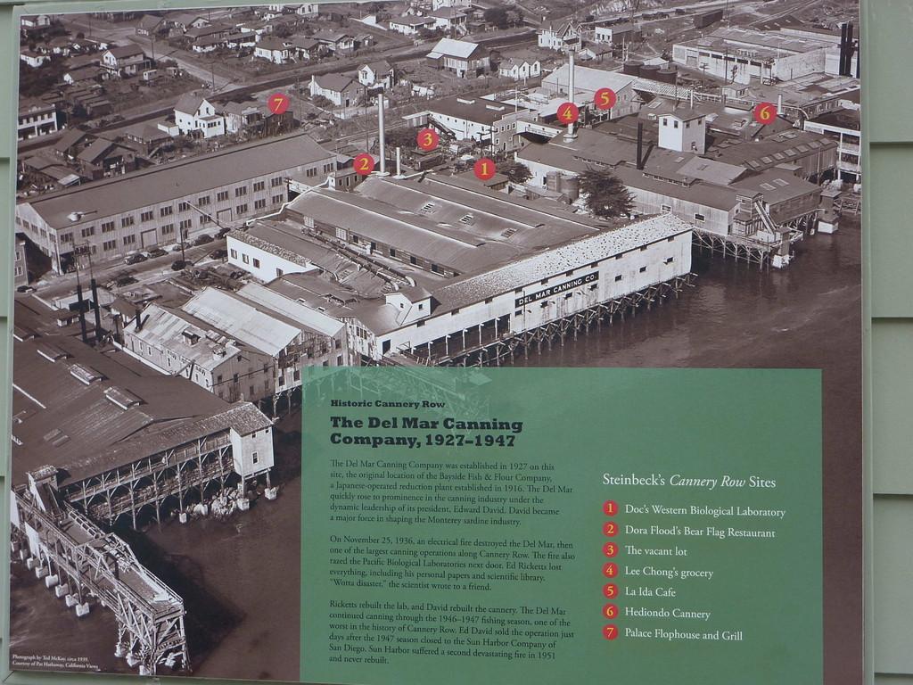 Monterey - ehem. Fischfabriken