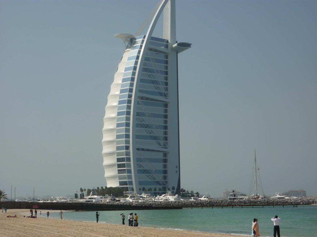 1.Tag - Dubai/Palme - Hotel Burj el Arab