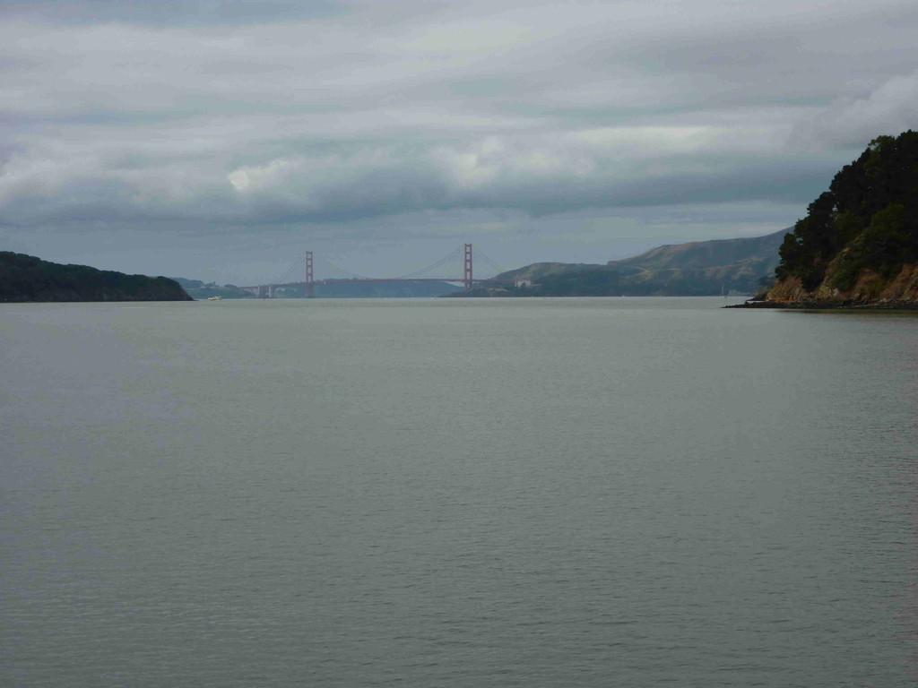 Mit der Fähre von Lakspur nach San Francisco