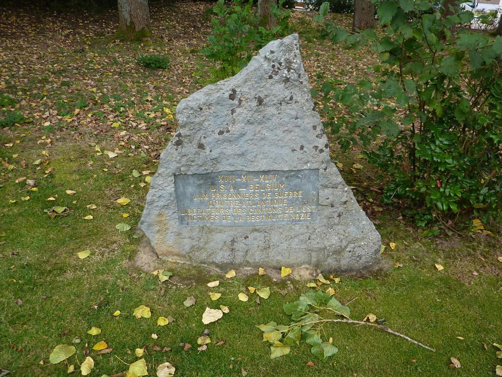 3.Tag - Baugnez/Belgien - Gedenkstätte an Malmedy Massaker 12/1944