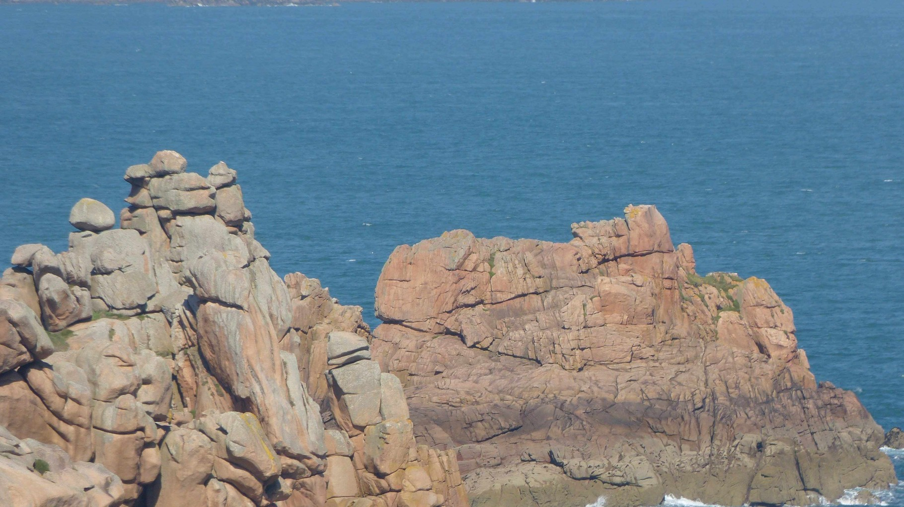 Bretagne - Rosa Granitküste