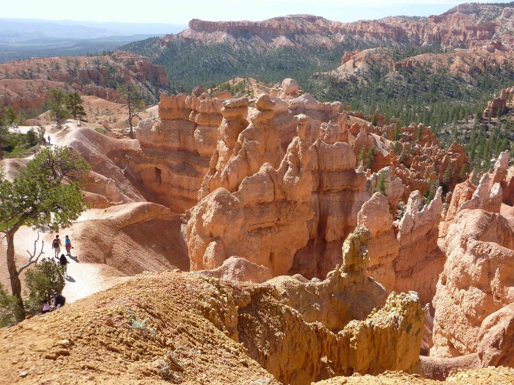 Bryce Canyon - Canyonwanderung