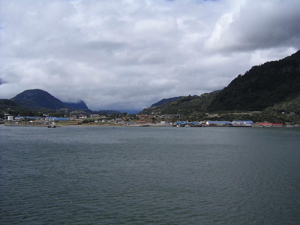 Stop in Puerto Chacabuco